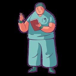 Doctor ilustración simple
