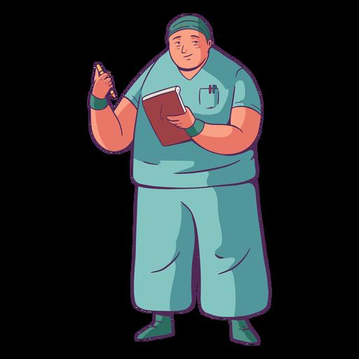 Doktor Illustration einfach