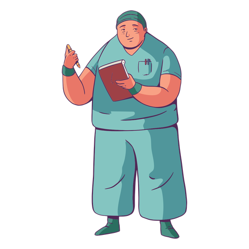 Ilustração médica simples