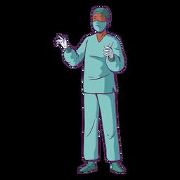 Doctor ilustración cirugía