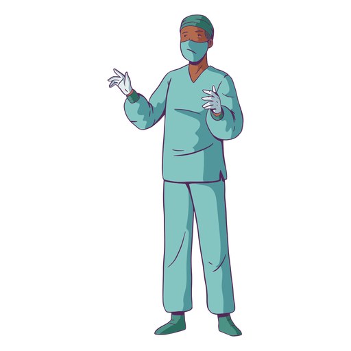 Cirurgia de ilustração médica