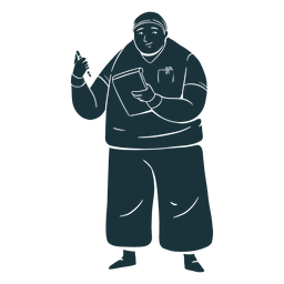 Doctor silhouette simple