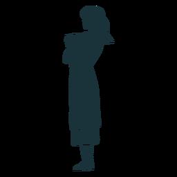 Doctor simple silueta