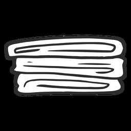 Ropa de cama Doodle simple