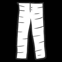 Pantalones de pijama Doodle simple
