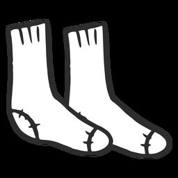 Doodle socks simple