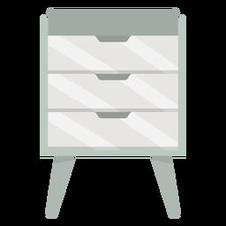 Muebles de cajones de colores