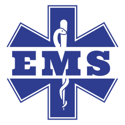 Emergency medical services badge
