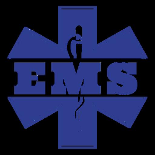 Insignia de servicios médicos de emergencia