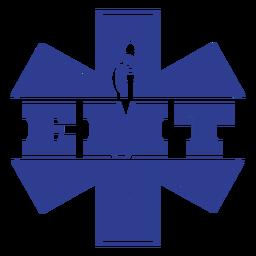 Insignia de técnico médico de emergencia socorristas