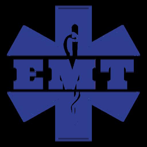 Emergency medical technician badge first responders