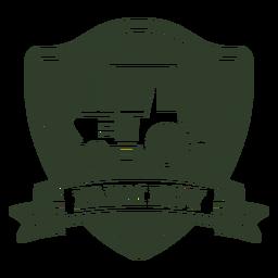 Distintivo de menino de fazenda