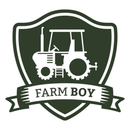 Farm boy badge