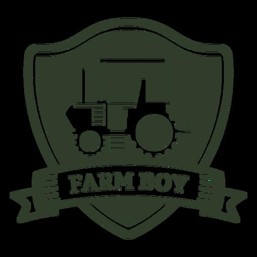 Farm boy badge Transparent PNG