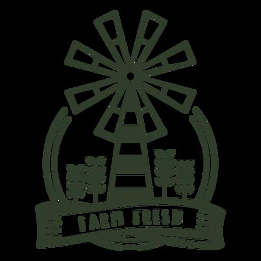 Farm fresh badge