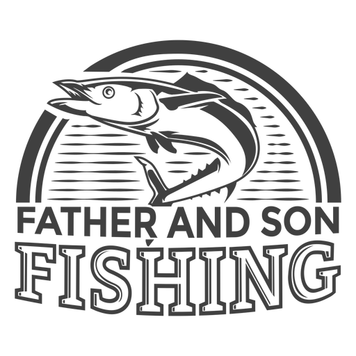 Padre hijo pesca