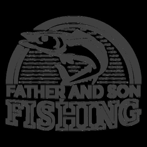 Pai filho pesca