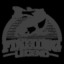 Leyenda de la pesca genial