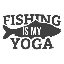 Fishing my yoga
