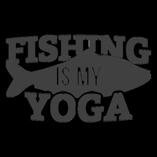Fishing my yoga