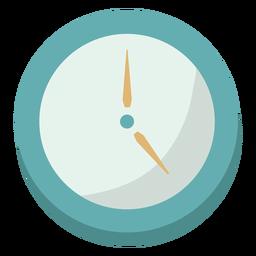 Relógio plano simples