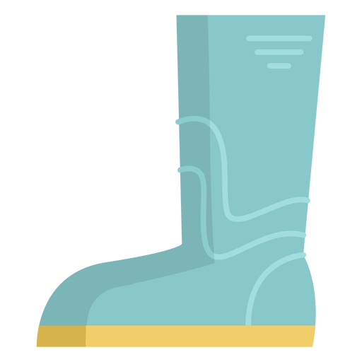 Gardening boots colored Transparent PNG