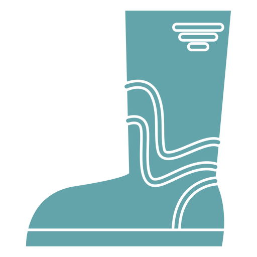 Gardening boots silhouette Transparent PNG