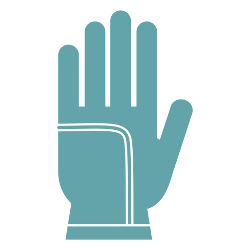 Gardening gloves silhouette Transparent PNG