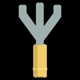 Rastrillo de jardinería simple