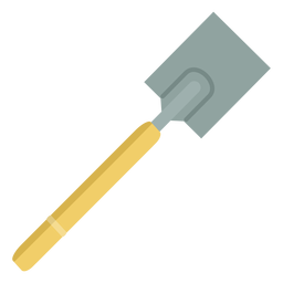 Gardening shovel simple