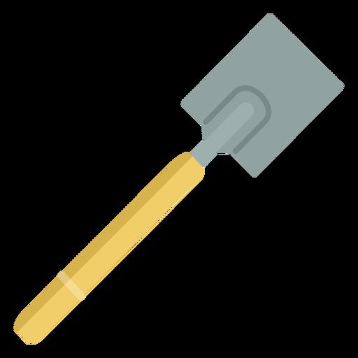 Gardening shovel simple Transparent PNG