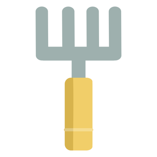 Gardening simple pitchfork Transparent PNG