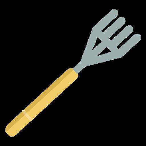 Gardening simple rake Transparent PNG