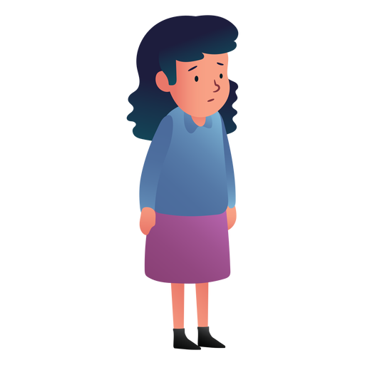 Girl waiting person Transparent PNG