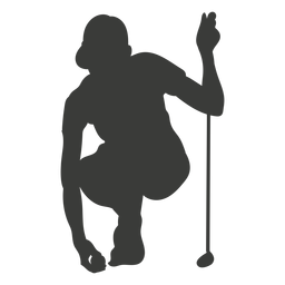 Golfspieler Silhouette Golf