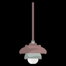 Lámpara colgante de muebles de colores