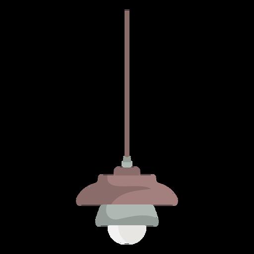Luminária suspensa de móveis coloridos