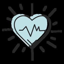 Hospital de corazón salvavidas