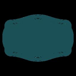 Etiqueta de curvas horizontales