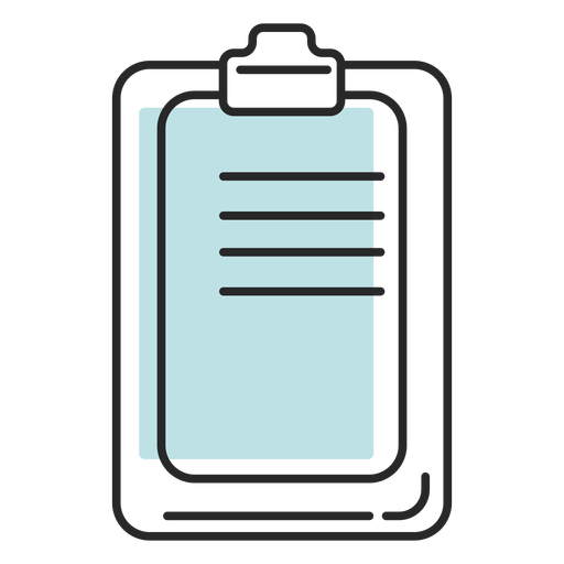 Hospital duotone clipboard