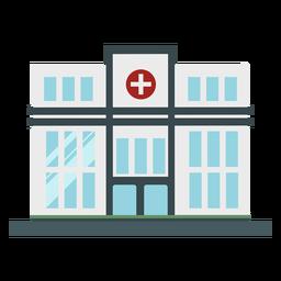 Edificio plano del hospital
