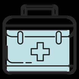 Bolso médico hospitalario duotono