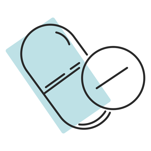 Hospital medicine pills duotone