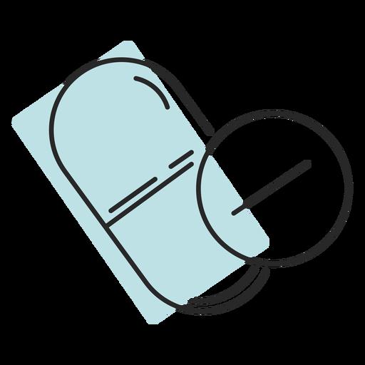 Medicina hospitalaria pastillas duotono