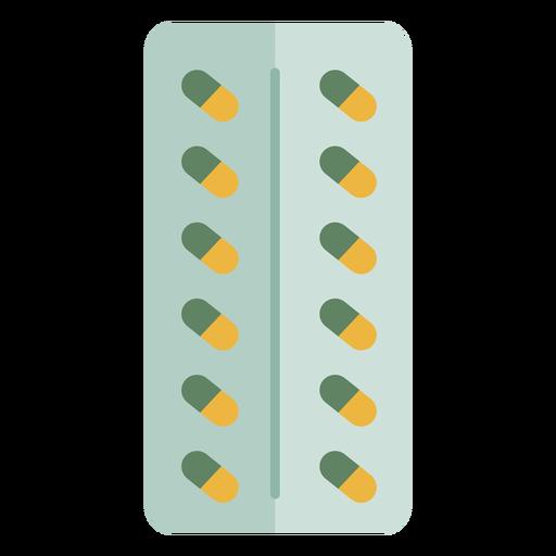 Paquete de pastillas de medicina hospitalaria