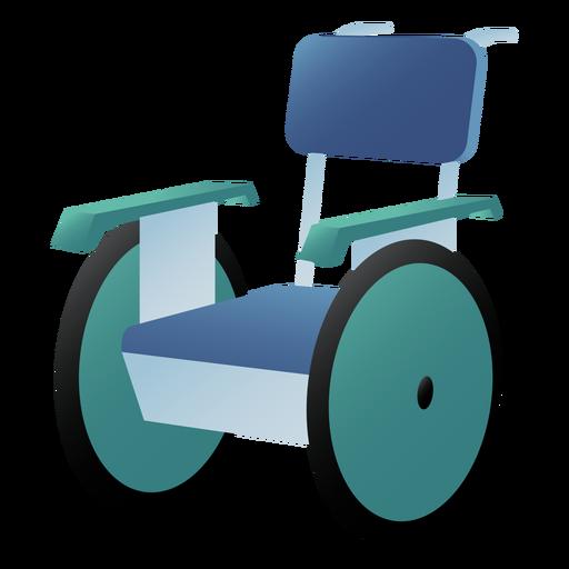 Silla de ruedas hospitalaria de color Transparent PNG
