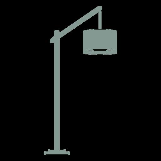 Lamp shade furniture silhouette