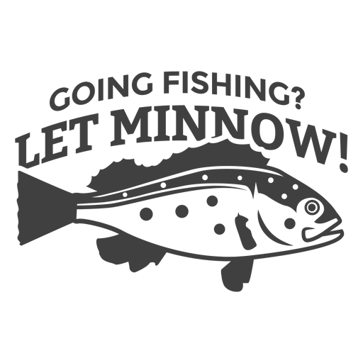 Let minnow fishing Transparent PNG