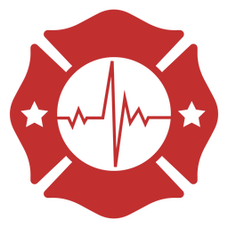 Lifeline firefighter badge