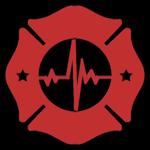 Lifeline firefighter badge Transparent PNG